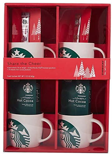 Starbucks Holiday Coffee Mug Gift Set. Perfect Christmas Gift