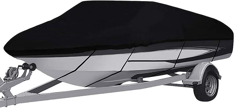 Draulic B/âche de protection imperm/éable en polyester Oxford pour bateau en forme de V