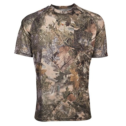 King's Camo Hunter Series Short Sleeve Tee, Mountain Shadow, XX-Large