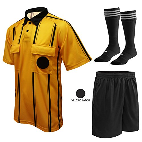 - Referee 3 Piece Package (Red, Adult Large)