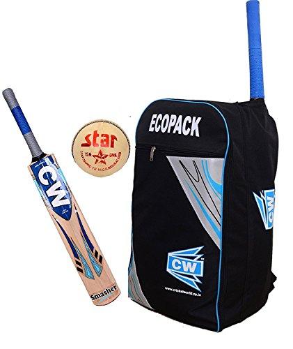 d66e467d0b82 CW Premium IPL Star Smasher Ecopack Genius Maximum Performance Individual  (3 In 1) Multi-color Tournament Batting Sports Equipment Top Three  Accessories ...