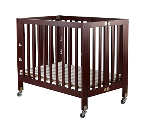Orbelle Trading Roxy Three Level Portable Crib, Cherry