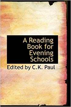 Book A Reading Book for Evening Schools