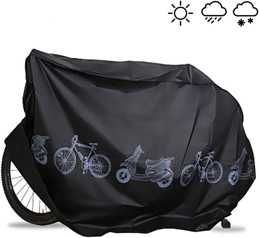 EZONTEQ Funda para Bicicleta Impermeable, Funda de Proteccion Bicicleta Bici Moto Cubierta a Prueba de Polvo Sol Lluvia Agua UV Rayos Ultravioleta