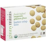 Ginny Bakes - Organic Gluten Free Fresh Baked Cookies Butter Crisp Love - 6.7 oz. by Ginny Bakes