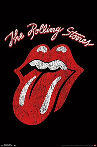 Trends International Rolling Stones Classic Logo Wall Poster 22.375