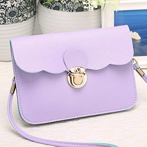 Modèle Sac Sac Pink Mode à Croisé Purple Bandoulière Bandoulière Femme à 0IwrpH4q0