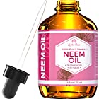 Neem Oil by Leven Rose, Organic 100% Pure Cold Pressed Unrefined Natural