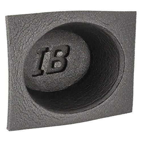 Install Bay IBBAF462 4 x 6 Inch Shallow Oval Foam Acoustic Speaker Baffles - Pair