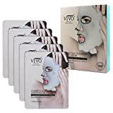 Oil Cleansing Gritty - Vivo Per lei sheet masks (Charcoal Mask)