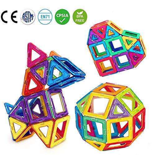 ic Blocks Building Construction Tile Toys - Intelligent 3D STEM Educational Game for Kids Toddlers Boys Girls 30 Pc Set - Best Gift for Kids ()