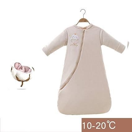 Saco de Dormir para bebés, algodón Cuatro Estaciones Universal, Colcha Gruesa de Primavera y