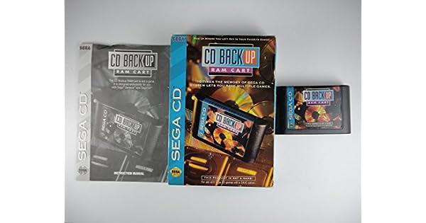 Amazon com: Sega CD Back Up Ram Cart: Video Games
