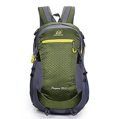 Hongrun Sports de plein air élégant sac à bandoulière double fera toutes les femmes et les hommes l'Escalade Randonnée 30L'emballage