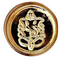 Vishisht High Quality Copper Brass Haldi Kumkum Holder Weig
