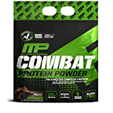 MusclePharm Combat Protein Powder, Essential Whey Protein Powder, Isolate Whey Protein, Casein and Egg Protein with BCAAs and Glutamine for Recovery, Chocolate Milk, 10-Pound, 129 Servings