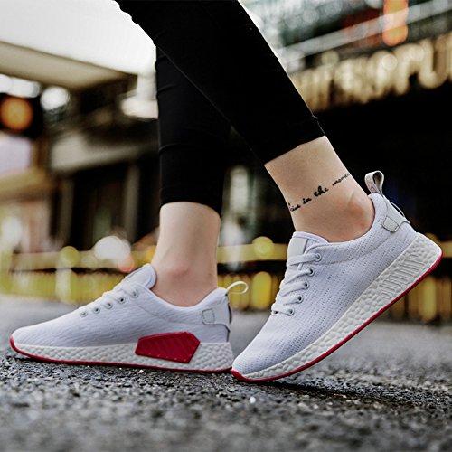 Cybling Tillfälliga Mode Plattform Sneakers För Kvinnor Utomhus Promenadskor Skor Vit