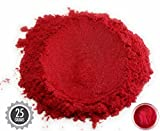 25gr Baku Red Mica Powder Pigments (Resin, Paint, Epoxy, Soaps, Nail Polish, Liquid Wraps)