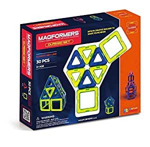 Magformers Classic Set, colors may vary (30-pieces)
