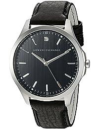 Armani Exchange Men's AX2182 Smart Watch Analog Display Analog Quartz Black Watch