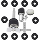 Hi-hat Cymbal Stand Screw Cymbal Clutch Hammer Head Set Drum Kit Hardware Tool for Drummer