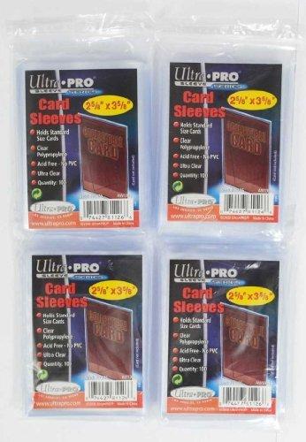 400 Stück Ultra Pro Standard Schutzhüllen Sleeves 4x 100er Packs Regular Soft Card
