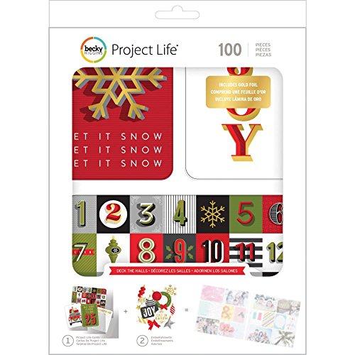 Project Life Value Kit - Deck The Halls W/Gold Foil -