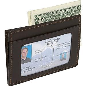 Dopp Men's Regatta Front Pocket Get-Away Minamalst Slim Wallet