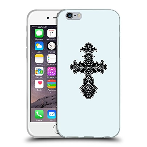 GoGoMobile Coque de Protection TPU Silicone Case pour // Q07830619 Christian Cross 8 Bulles // Apple iPhone 7