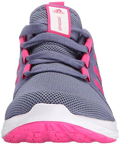 adidas Performance cc fresco rebote 3K Zapatos (poco Kid/Big Kid) Super Purple/Shock Pink/Prime Blue