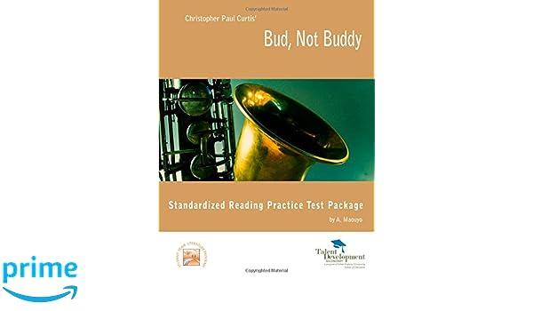 Bud Not Buddy Standardized Reading Test Package