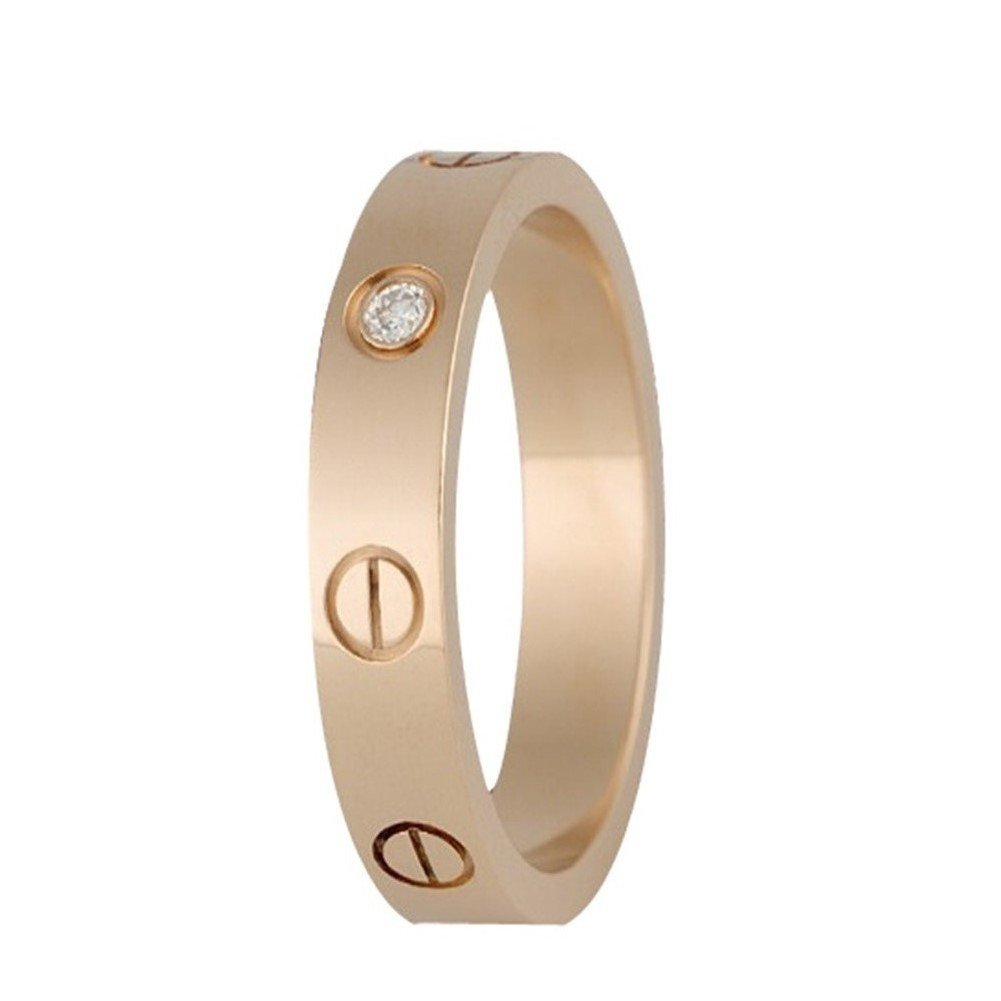 Fire Ants Love Ring-Zircon Rome Digital Ring,Rose Gold(Size: 5-9)