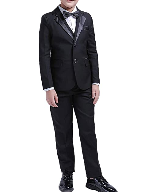 Amazon.com: P.L.X Boys Tuxedos Toddler Formal Suits Set ...