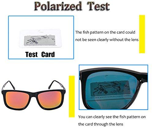 Hombre Mujer C3 para Aviator C3 para Polarizadas De 400 Gafas Protección UV Sol Xxwq0C04