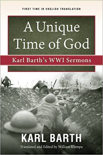 Image result for karl barth a unique time for God