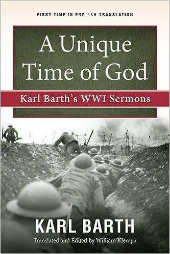 Image result for karl barth a unique time for God