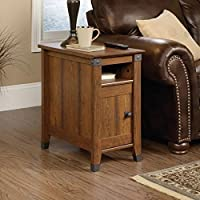 Newdale End Table With Storage, Side Table (Washington Cherry)
