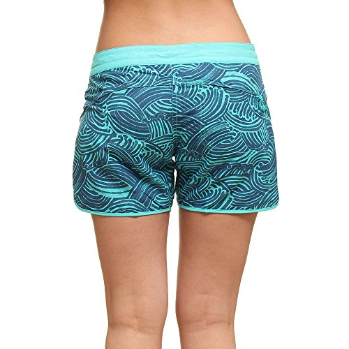 Patagonia - Shorts - para mujer Water Maker: Howling Turquoise