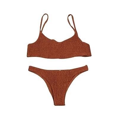 0d1db99f6e4 Amazon.com  Han Shi Bandage Bikini