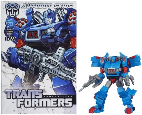 Transformers Generations Deluxe Class Nightbeat with Comic Book Mint on Card