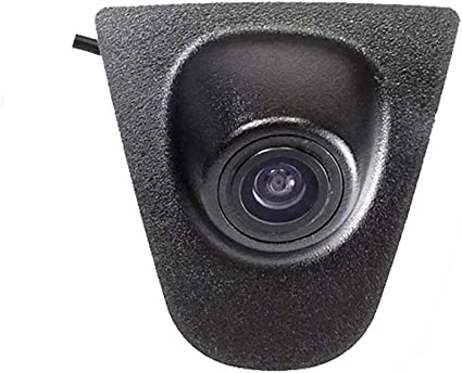 Vehicle-Specific car Front View Logo Embedded Backup Camera Parking System with CCD Waterproof IP67 Middle for Volvo S90//S80L//S40L//S80//S40//S60//V60//XC90//XC60 Volvo C30//C70//S60L//V40R V50// XC 70 QINGTIAN