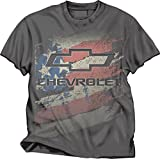 Chevy Logo American Flag T-Shirt (Large)