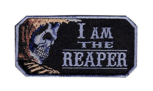 I Am The Reaper Tactical Morale Milspec Morale IRON ON 3 x 2 PATCH