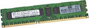 اس دي ذاكرة وصول عشوائي ECC مسجل PC3 -10600 CL9 مزدوج التصنيف 2جيجابايت (1 * 2 جيجابايت) دي دي ار 3 من اتش بي - 500202-061