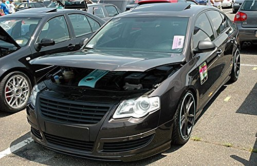Amazon.com: Badgeless Debadged Euro Sport Front Grill W/O Emblem For VW Passat B6 3C 06-10: Automotive