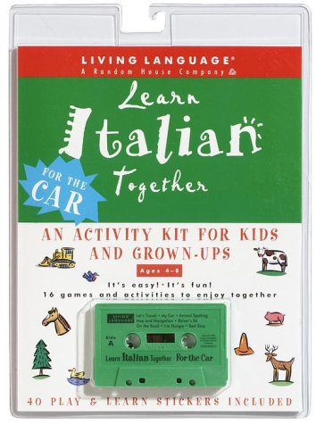 Learn Italian Together: An Activity Kit for Kids and Grown-Ups (Living Language Plus)