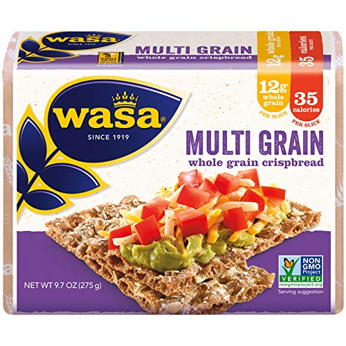 Wasa Multi Grain Crispbread, 9.7 Ounce (Pack of 12)