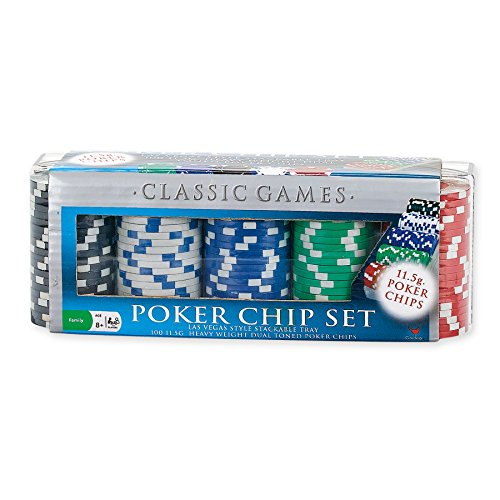 UPC 047754134605, Classic Game Poker Chip Set (100 Count), 11.5gm (styles may vary)