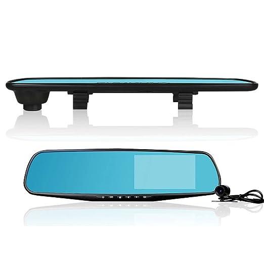 Harpily Camara Trasera de Coche Full HD 1080P 2.8 Grabadora de Video Dash CAM Espejo Retrovisor Cámara de Coche DVR: Amazon.es: Electrónica