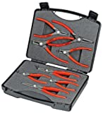 KNIPEX 00 21 25 S Set Of Circlip Snap-Ring Pliers